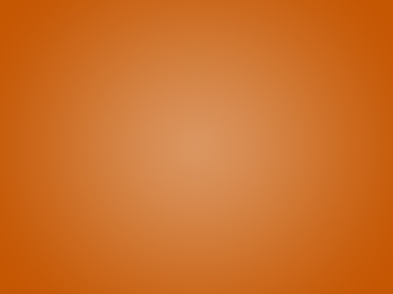 Orange Radial Gradient