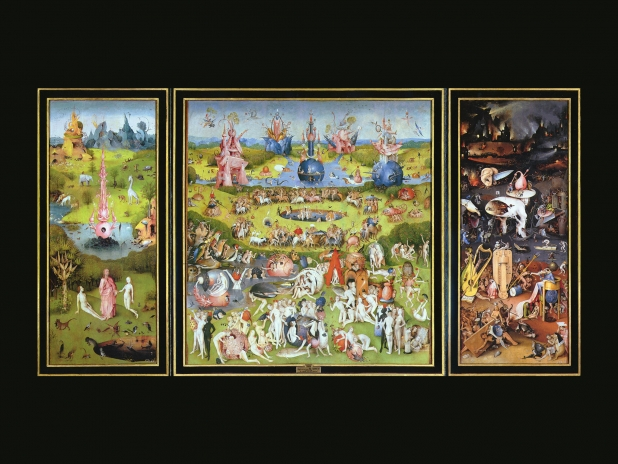 The Garden of Earthly Delights Desktop Wallpaper