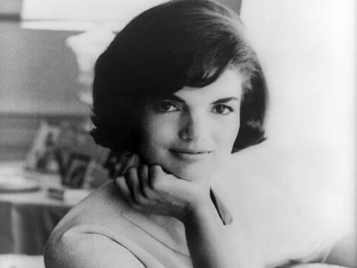 The official White House photograph of first lady Jacqueline Kennedy from 1961.