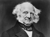 Eighth president of the United States Martin Van Buren and his prodigious side-whiskers