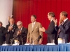 President Reagan at the NIH