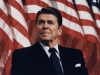 Ronald Reagan, 40th president of the United States, as photographed by Michael Evans in 1982.