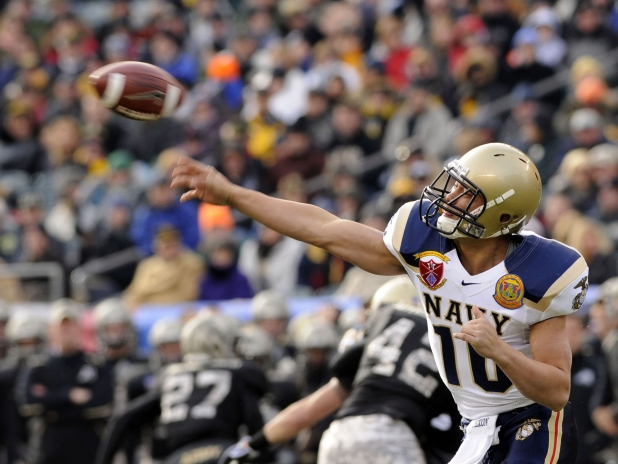 college football field dimensions. Throwing a Pass. The US Naval