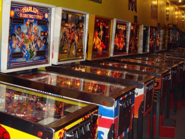 Pinball Machines Desktop Wallpaper