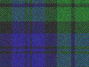 The tartan of the Black Watch regiment. Considered a